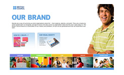 British Council Identity website